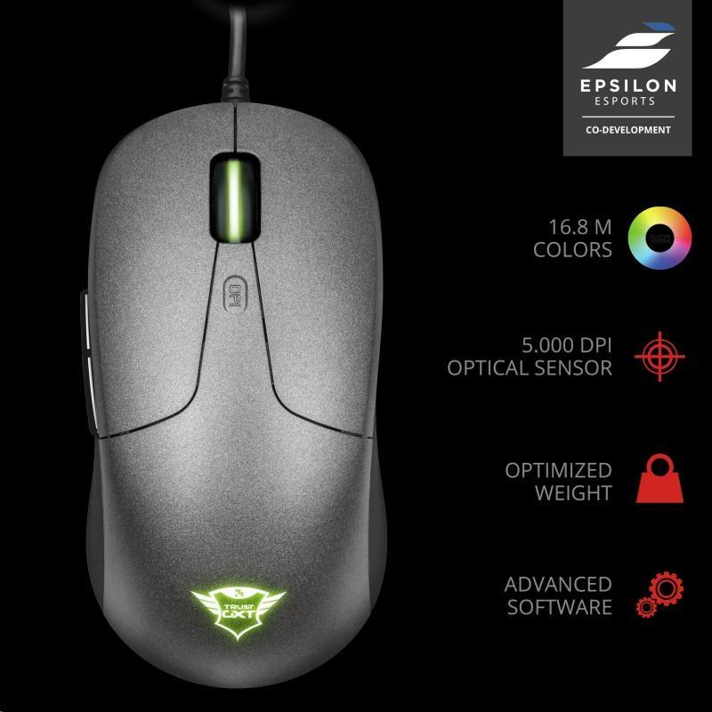 TRUST myš GXT 180 Kusan Pro Gaming Mouse