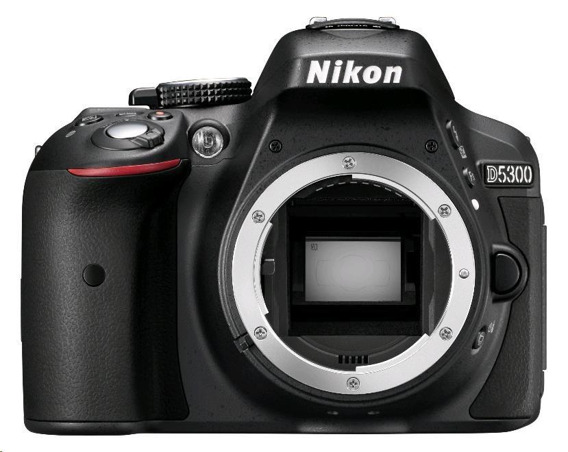 NIKON zrcadlovka D5300 + 18-105 AF-S VR (VBA370K004)