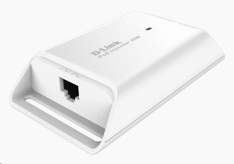 D-Link DPE-301GI 1-Port Gigabit 30W PoE+ Injector, 802.3at