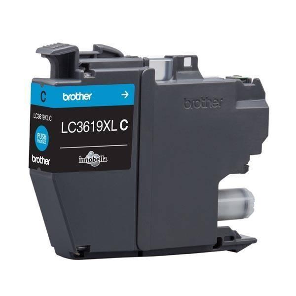 BROTHER INK LC-3619XLC azurový, cyan - 1300stran, J2330, J3530, J3930 (LC3619XLC)