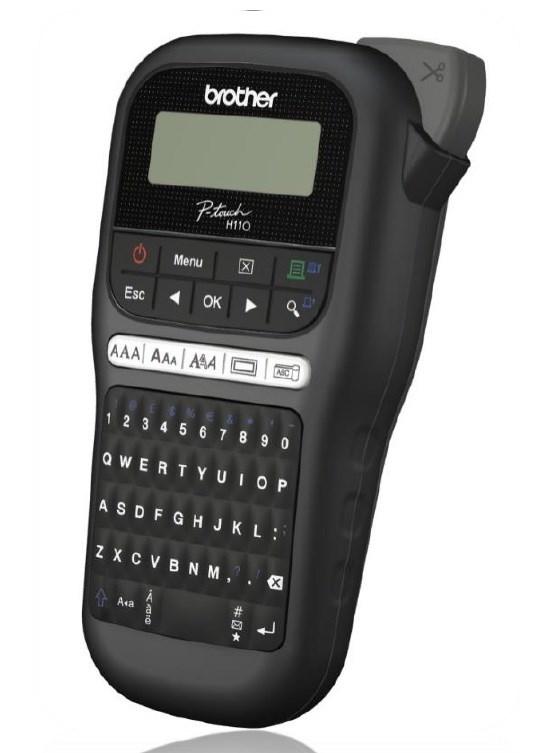 BROTHER tiskárna štítků PT-H110 - 12mm, pásky TZe - popisovač (PTH110YJ1)