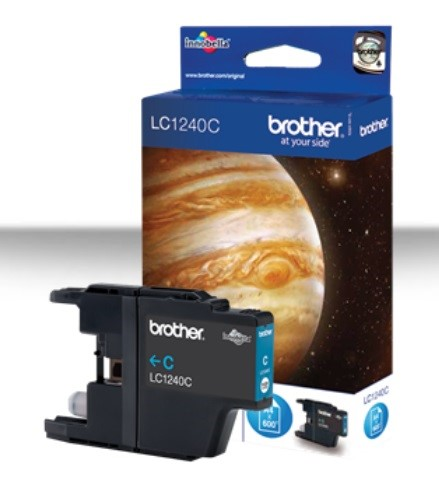 BROTHER INK LC-1240C cyan MFC-J6910DW cca 600 (LC1240C)