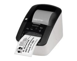BROTHER tiskárna štítků QL-700 - 62mm, termotisk, USB, Profesionální Tiskárna Štítků (QL700YJ1)