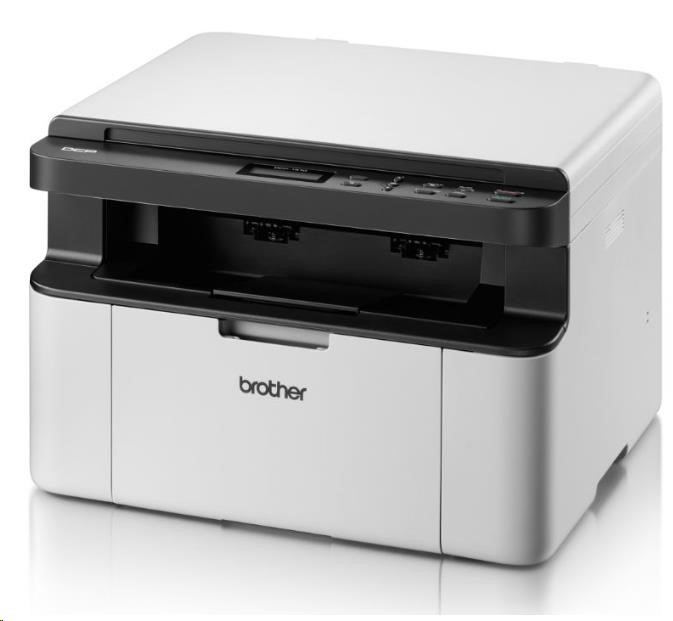 BROTHER multifunkce laserová DCP-1510E - A4, A4 sken, 20ppm, 16MB, 600x600copy, GDI, USB, bílá (D