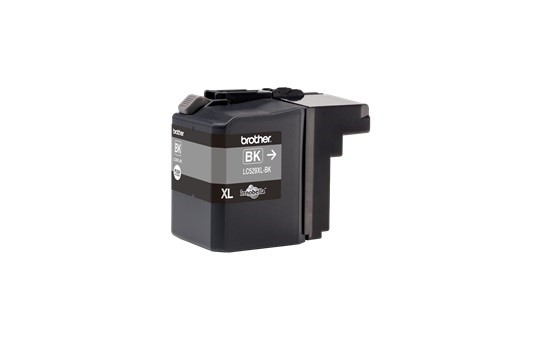 BROTHER INK LC-529XLBK black (ISO / IEC 24711) - DCP-J100 / DCP-J105 / MFC-J200 cca 2400 (LC529XLBK)