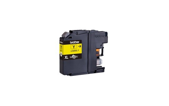 BROTHER INK LC-525XLY yellow (ISO / IEC 24711) - DCP-J100 / DCP-J105 / MFC-J200 cca 1300 (LC525XLY)