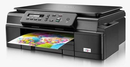 BROTHER multifunkce inkoustová DCP-J105 - A4, 11ppm, 64MB, 6000x1200, USB, GDI, WiFi, Ink Benefit, 100listů, bezokrajový (DCPJ105YJ1)