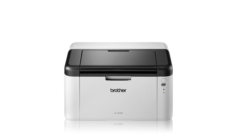 BROTHER tiskárna laserová mono HL-1210WE - A4, 20ppm, 2400x600, 32MB, GDI, USB 2.0, WIFI - v ceně toner 1000stran (HL1210WEYJ1)