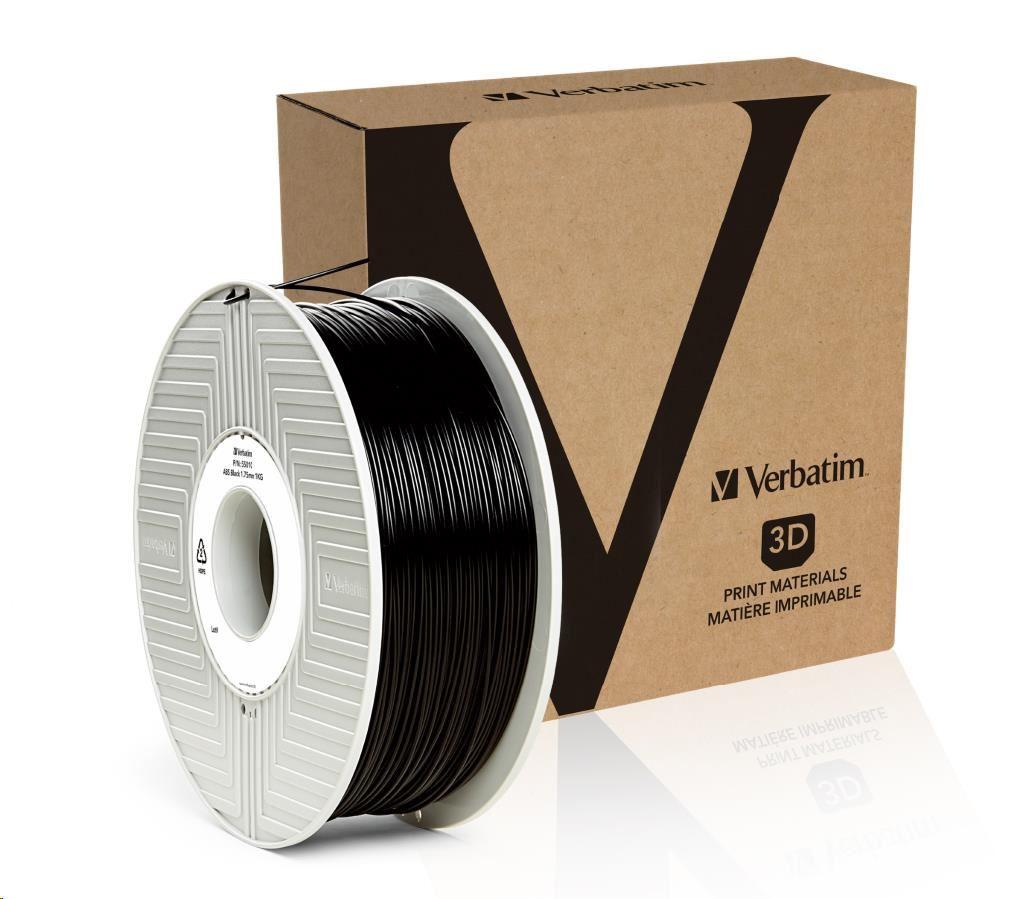 VERBATIM 3D Printer Filament ABS 1,75mm 1kg black