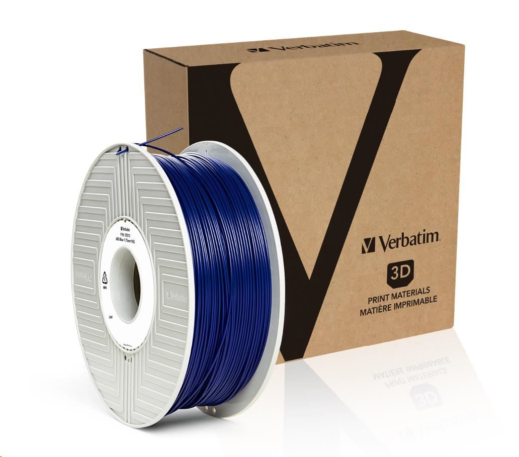 VERBATIM Filament Retail BOX ABS 1.75mm 1kg - BLUE (55012)