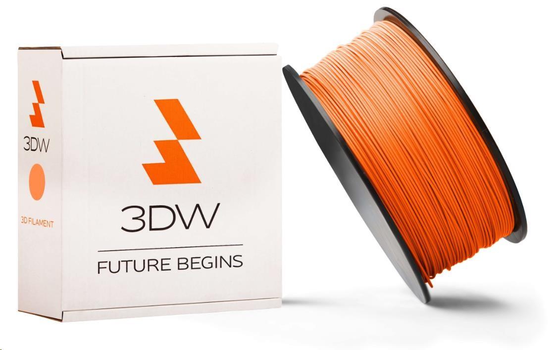 PLA 3DW ARMOR filament, průměr 1,75mm, 1Kg, Oranžová (D12103)