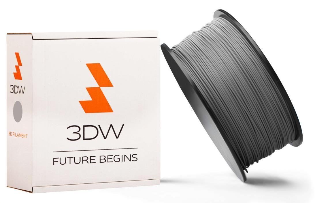 PLA 3DW ARMOR filament, průměr 1,75mm, 1Kg, Stříbrná (D12107)