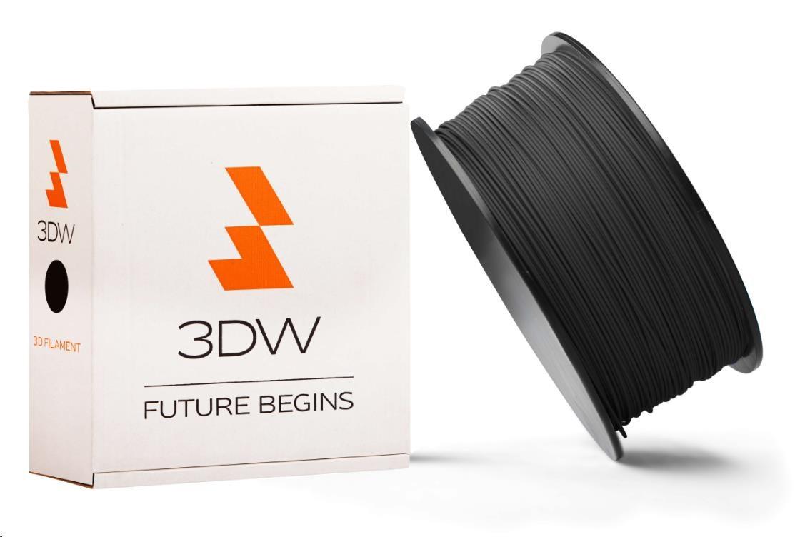 PLA 3DW ARMOR filament, průměr 1,75mm, 1Kg, Černá (D12108)