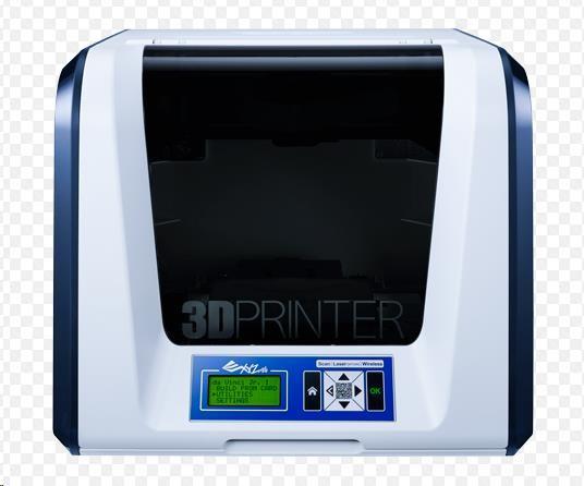 3D tiskárna XYZ da Vinci Junior 3v1 (Single extruder,sken,gravírování, PLA, WIFI) (3F1JSXEU00D)