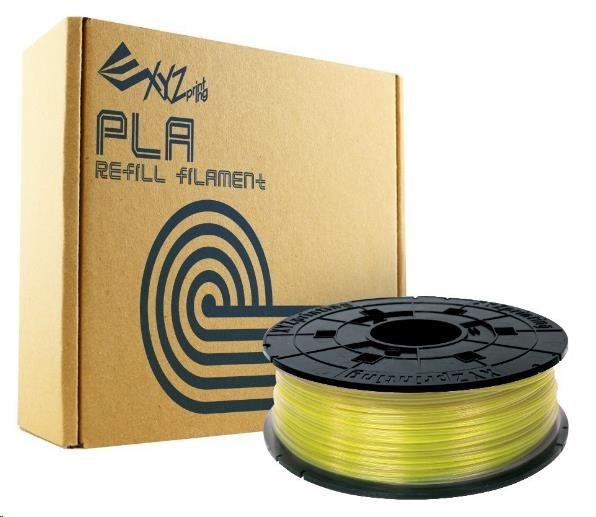 XYZ da Vinci 600 gr náhradní filament PLA Clear Yellow (RFPLBXEU03B)