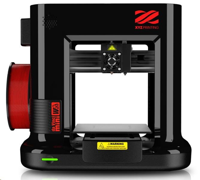 3D tiskárna XYZ da Vinci Mini W+ Černá - PLA