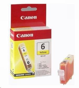 Canon BJ CARTRIDGE yellow BCI-6Y (BCI6Y) (4708A002)