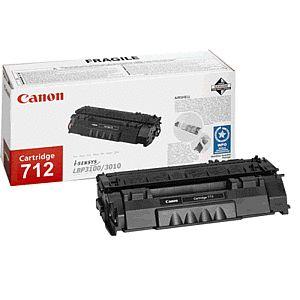 Canon LASER TONER black CRG-712 (CRG712) 1 500 stran* (1870B002)