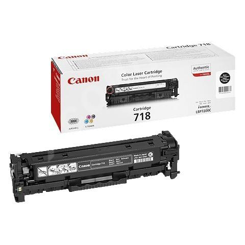 Canon LASER TONER black CRG-718BK (CRG718BK) 3 400 stran* (2662B002)