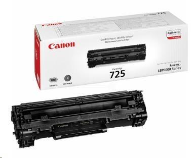 Canon LASER TONER black CRG-725 (CRG725) 1 600 stran* (3484B002)