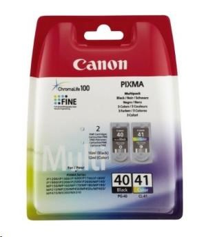 Canon BJ CARTRIDGE PG-40/CL-41 Multi Pack (2 Cartridges) (0615B043)