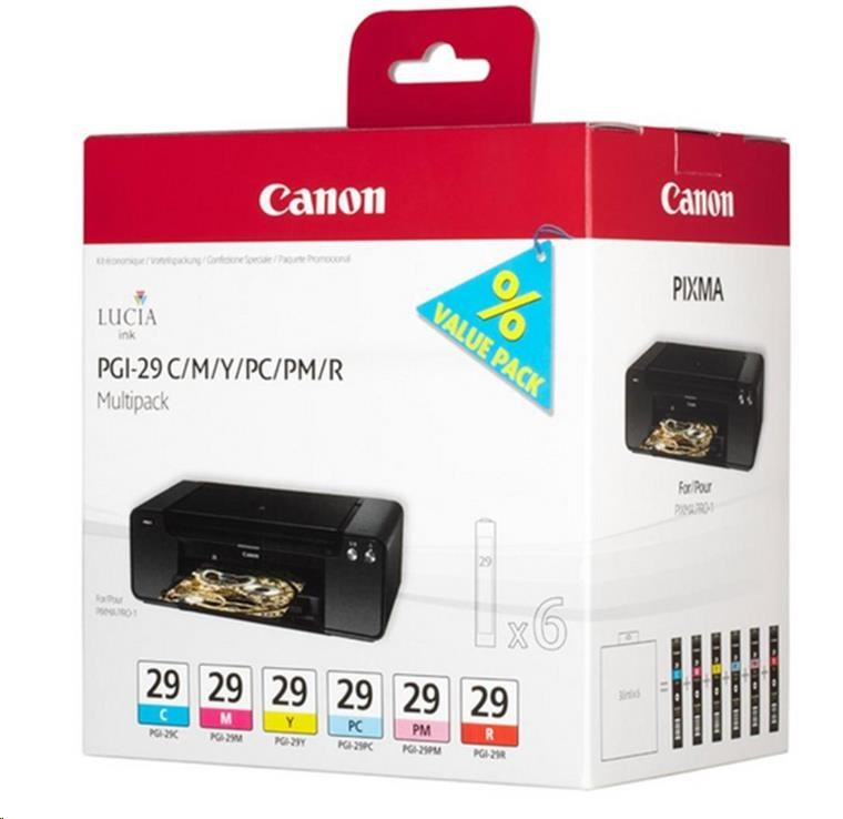 Canon BJ CARTRIDGE PGI-29 CMY/PC/PM/R Multi pro PIXMA PRO 1 (4873B005)
