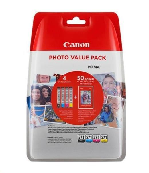 CANON BJ CARTRIDGE CLI-571XL BK BLISTER SEC (0331C004)