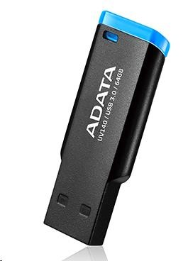 ADATA Flash Disk 64GB USB 3.0 DashDrive Choice UV140, modrý (AUV140-64G-RBE)