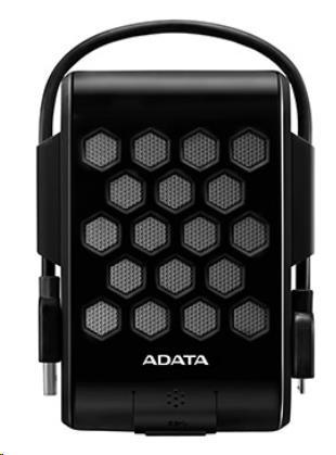 "ADATA Externí HDD 1TB 2,5"" USB 3.0, DashDrive™ Durable HD720, G-sensor, černý, (gumový, vodě/nárazu odolný) (AHD720-1TU3-CBK)"