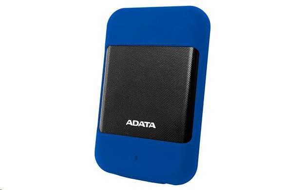 "ADATA Externí HDD 2TB 2,5"" USB 3.0 DashDrive™ Durable HD700, modrá (AHD700-2TU3-CBL)"