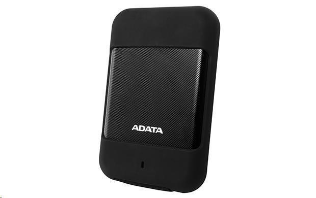 """ADATA Externí HDD 2TB 2,5"""" USB 3.0 DashDrive™ Durable HD700, černá (AHD700-2TU3-CBK)"""