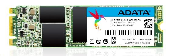 ADATA SSD 128GB Ultimate SU800 M.2 2280 80mm (R:560/ W:300MB/s) (ASU800NS38-128GT-C)