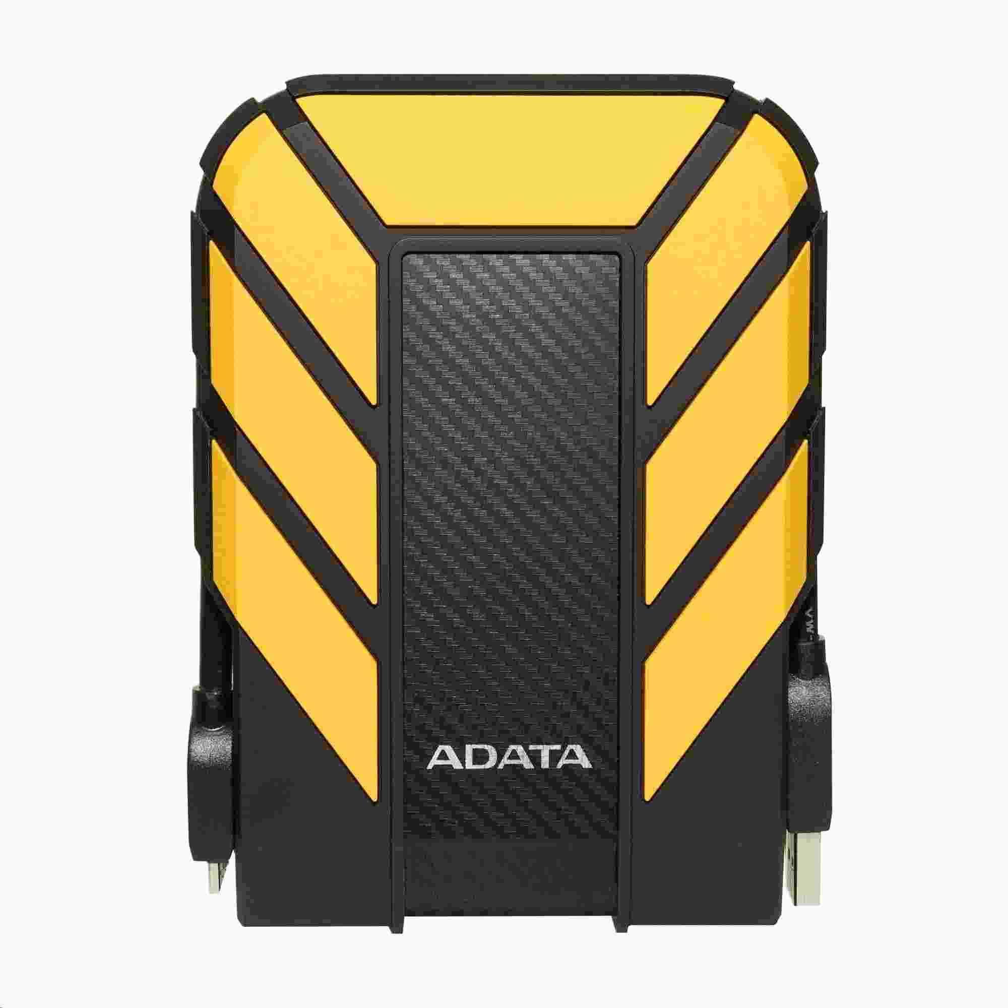 """ADATA Externí HDD 2TB 2,5"""" USB 3.1 HD710 Pro, žlutá (AHD710P-2TU31-CYL)"""