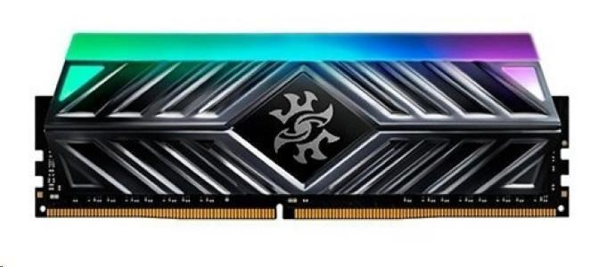 DIMM DDR4 8GB 3000MHz ADATA, -ST41 Spectrix D41 RGB memory, Single Color box