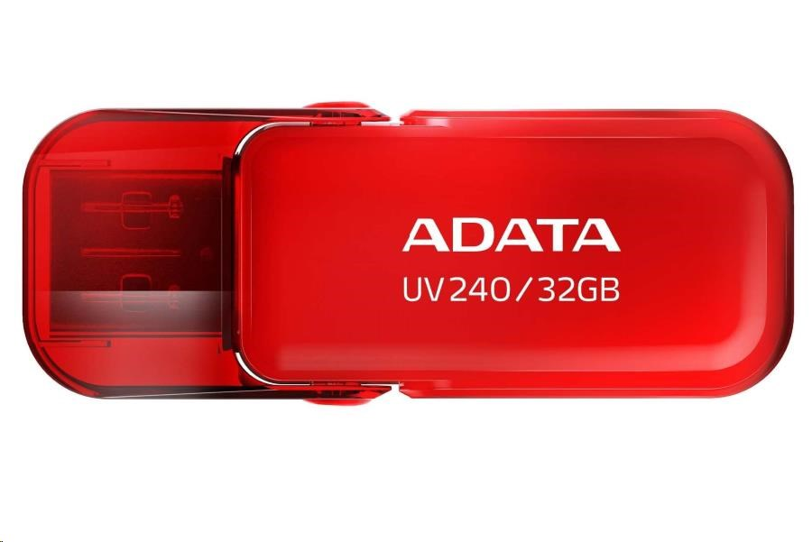 ADATA Flash Disk 32GB USB 2.0 Dash Drive UV240, Red
