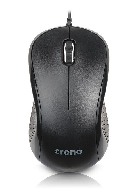 CRONO myš CM633 optická, 1000 dpi, černá, USB