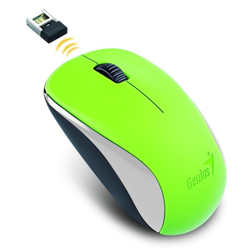 GENIUS myš NX-7000/ 1200 dpi/ bezdrátová/ zelená (31030109111)