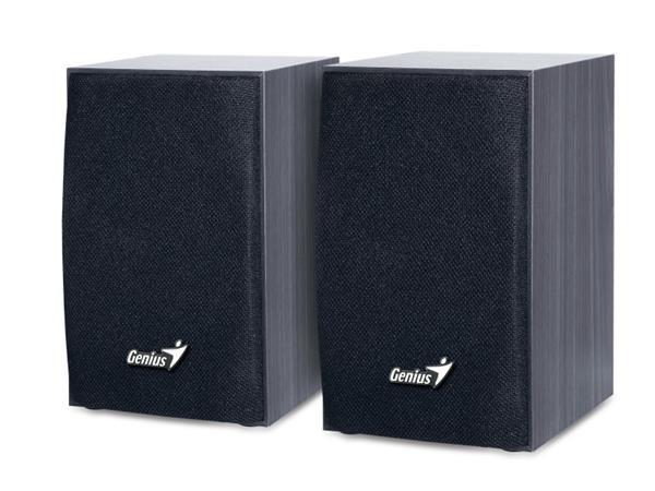 GENIUS repro SP-HF 160, 2.0, 4W RMS, dřevěné, černé, USB (31731063100)