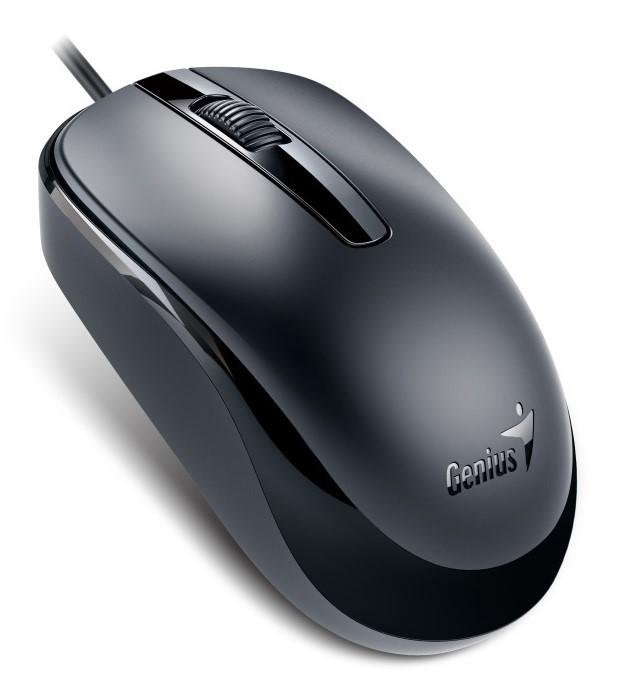 GENIUS myš DX-120, drátová, 1200 dpi, USB, černá (31010105106)