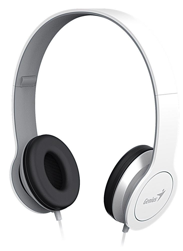 GENIUS sluchátka s mikrofonem HS-M430, bílá (31710197101)