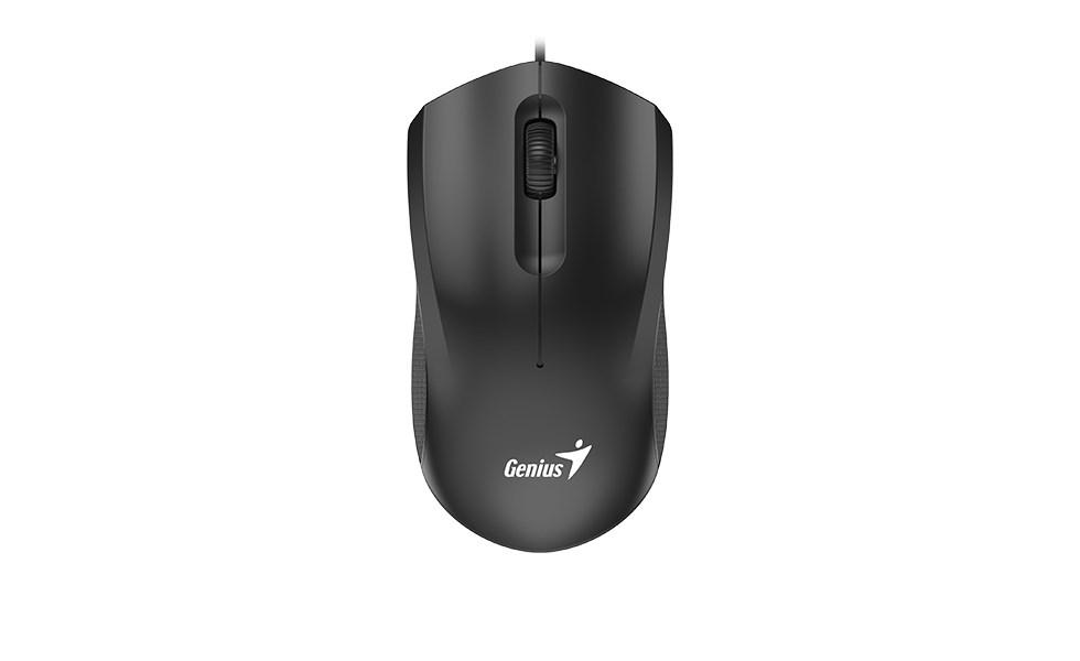 GENIUS myš DX-170, drátová, 1600 dpi, USB, černá (31010238100)