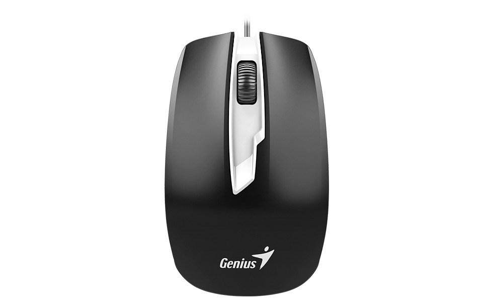 GENIUS myš DX-180, drátová, 1600 dpi, USB, černá (31010239100)