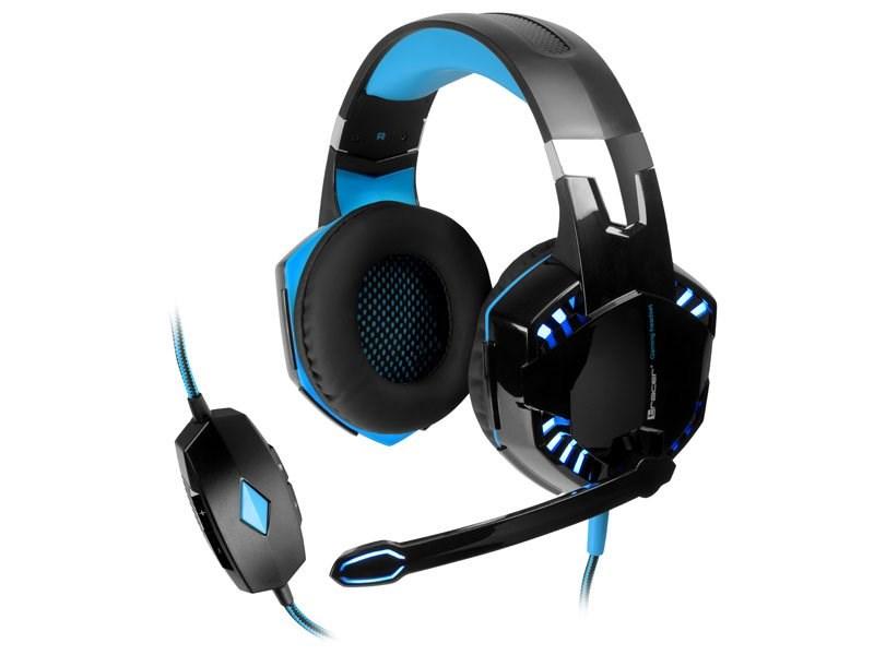 TRACER herní sluchátka s mikrofonem GAMEZONE Hydra 7.1 (TRASLU44890)