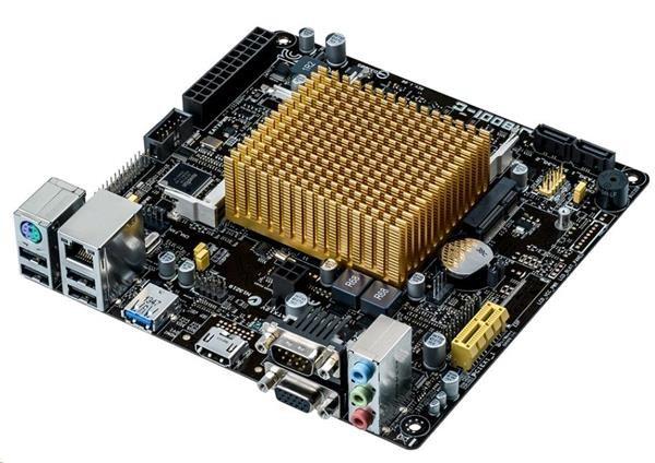 ASUS MB J1800I-C, Intel® Celeron® dual-core J1800 , 2xSODIMM DDR3L, VGA, mini ITX (90MB0J60-M0EAY1)