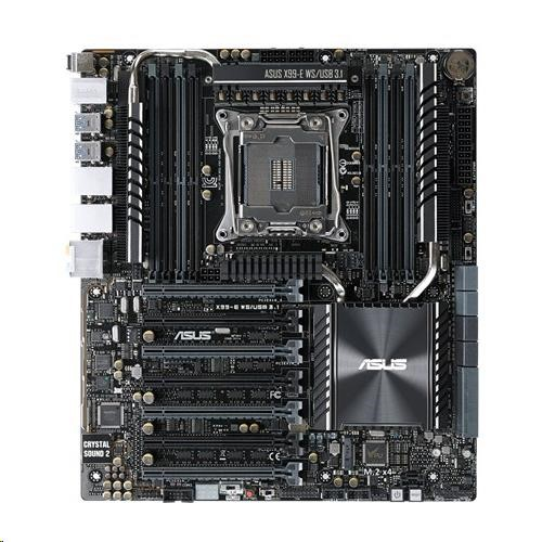 ASUS MB Sc LGA2011-3 X99-E WS/USB 3.1, Intel X99, 8xDDR4