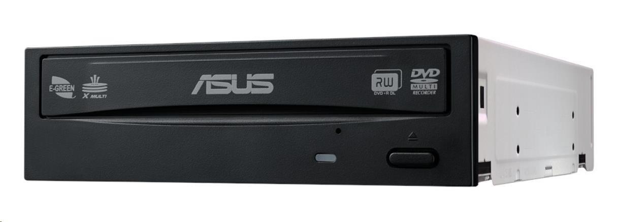 ASUS DVD Writer DRW-24D5MT/BLACK/BULK, black, SATA, M-Disc, bulk (bez SW) (90DD01Y0-B10010)
