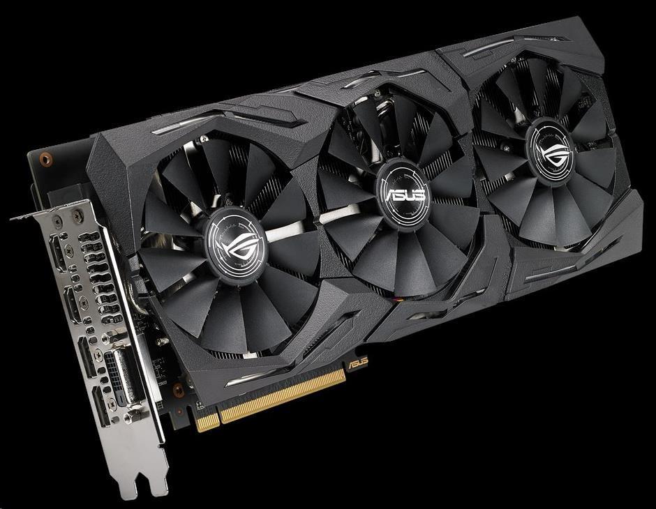ASUS VGA AMD Radeon™ ROG-STRIX-RX580-O8G-GAMING (90YV0AK0-M0NA00)