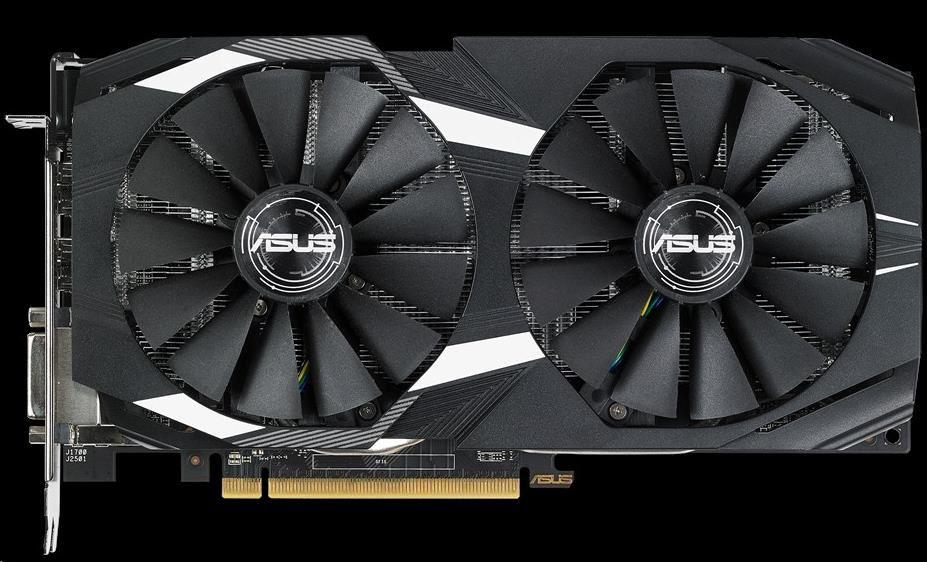 ASUS VGA AMD Radeon™ DUAL-RX580-O8G (90YV0AQ1-M0NA00)