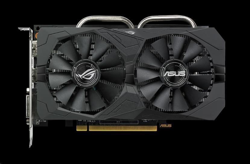 ASUS VGA AMD Radeon™ ROG-STRIX-RX560-4G-GAMING (90YV0AH1-M0NA00)