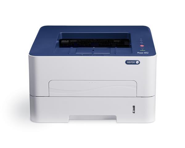 Xerox Phaser 3052 A4 BW tiskárna, 26ppm, PCL, LAN, Wifi, Apple AirPrint, Google Cloud Print (3052V_
